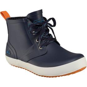 Viking Footwear Lillesand Botas de agua de goma Niños, navy/orange